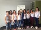 Εθελοντές στα εγκαίνια του GRID